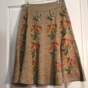 ANTHROPOLOGIE Ofdille Skirt 2